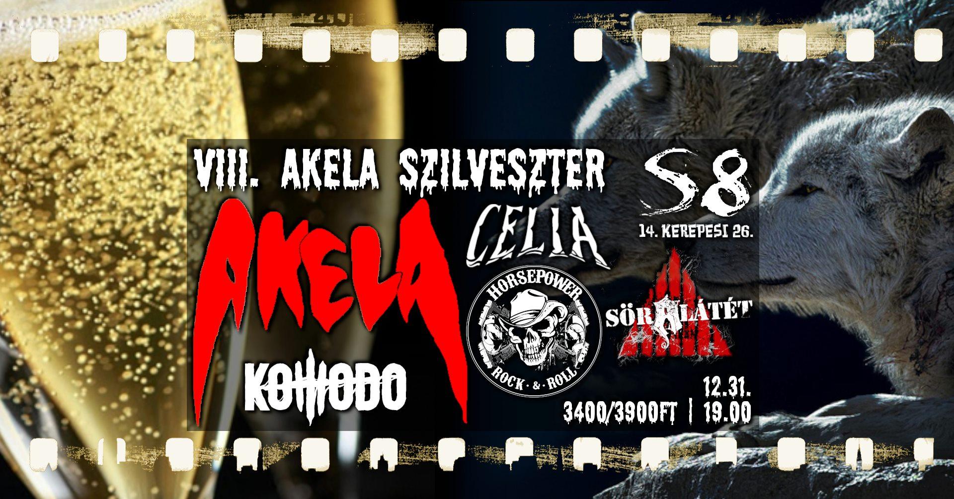 2021.12.31. Szilveszter koncert - Akela, Komodo, Celia, Horssepower, Söralátét - soralatet.com