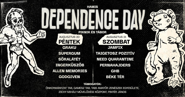 """""""Hamis"""" Dependence Day XI. Piknik és tábor"""